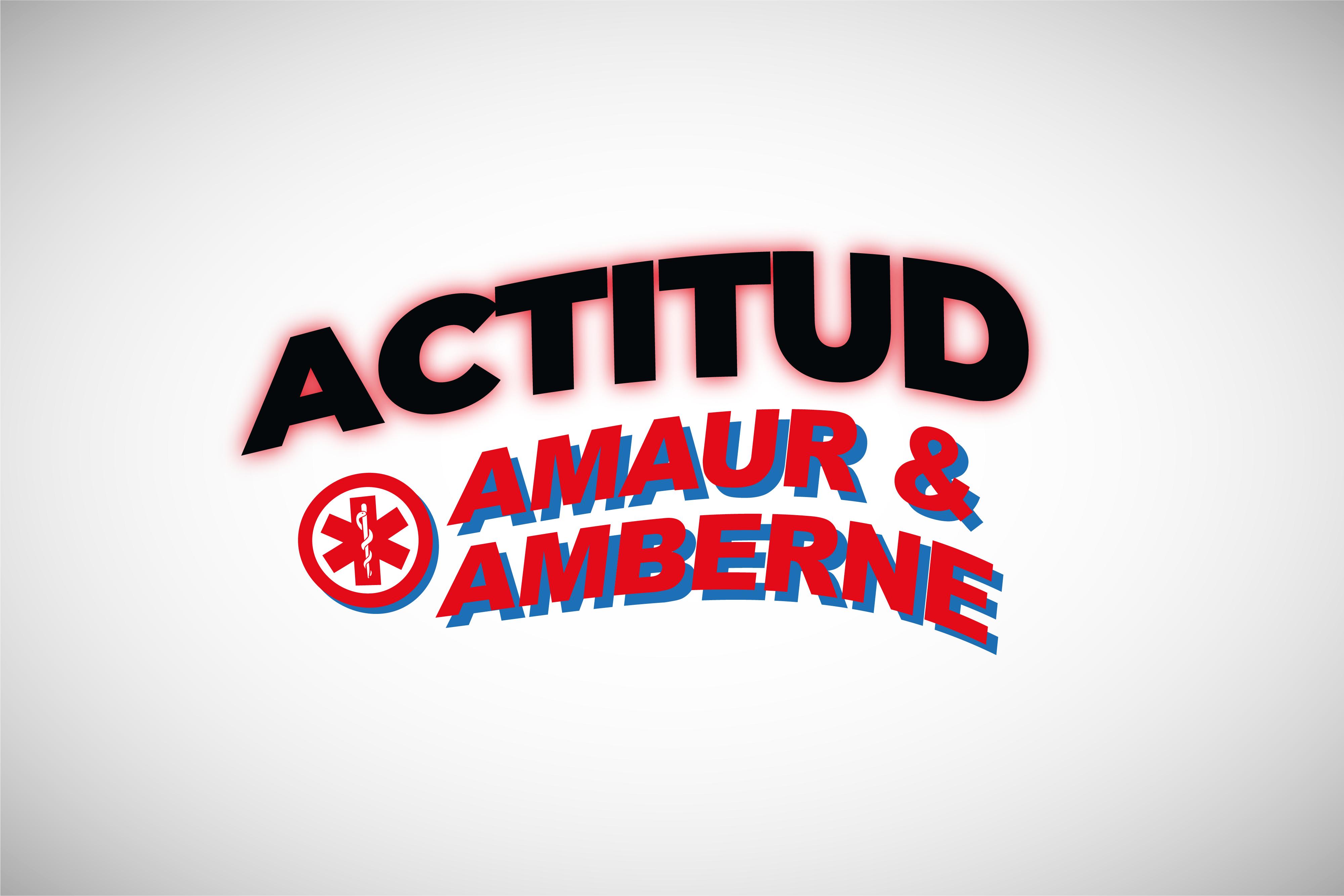 Diseño composición tipográfica Amaur & Amberne