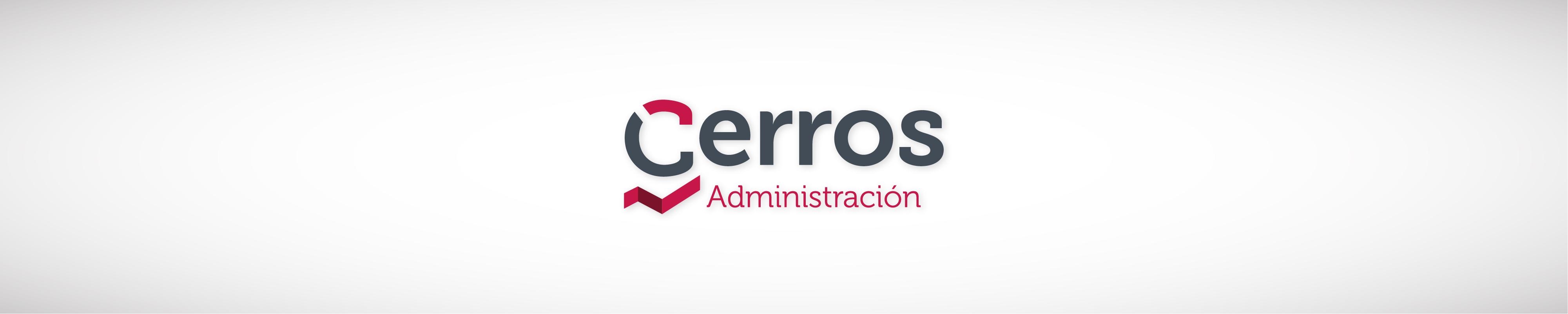 Logotipo Cerros administración