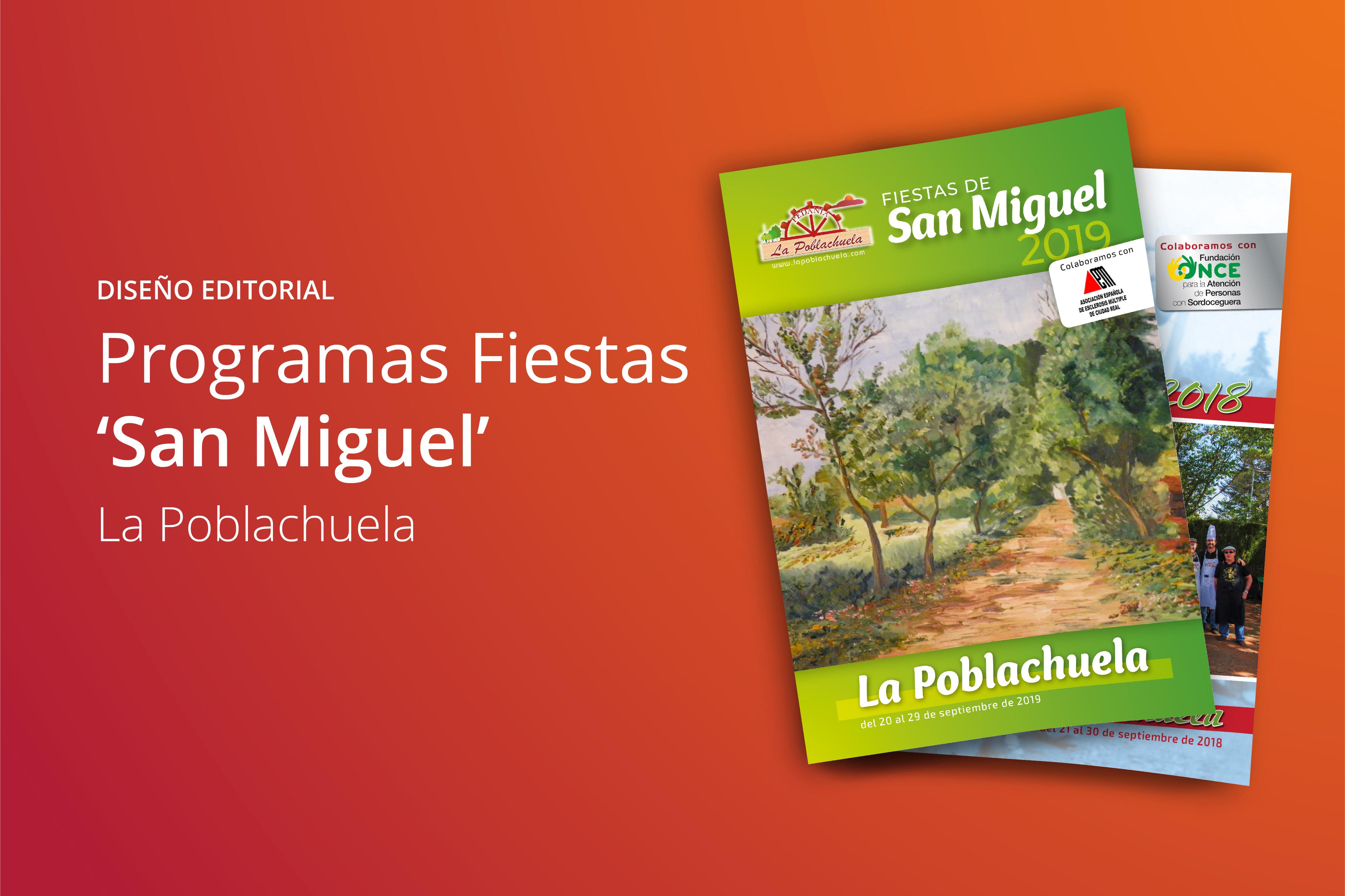 Programa fiestas La Poblachuela
