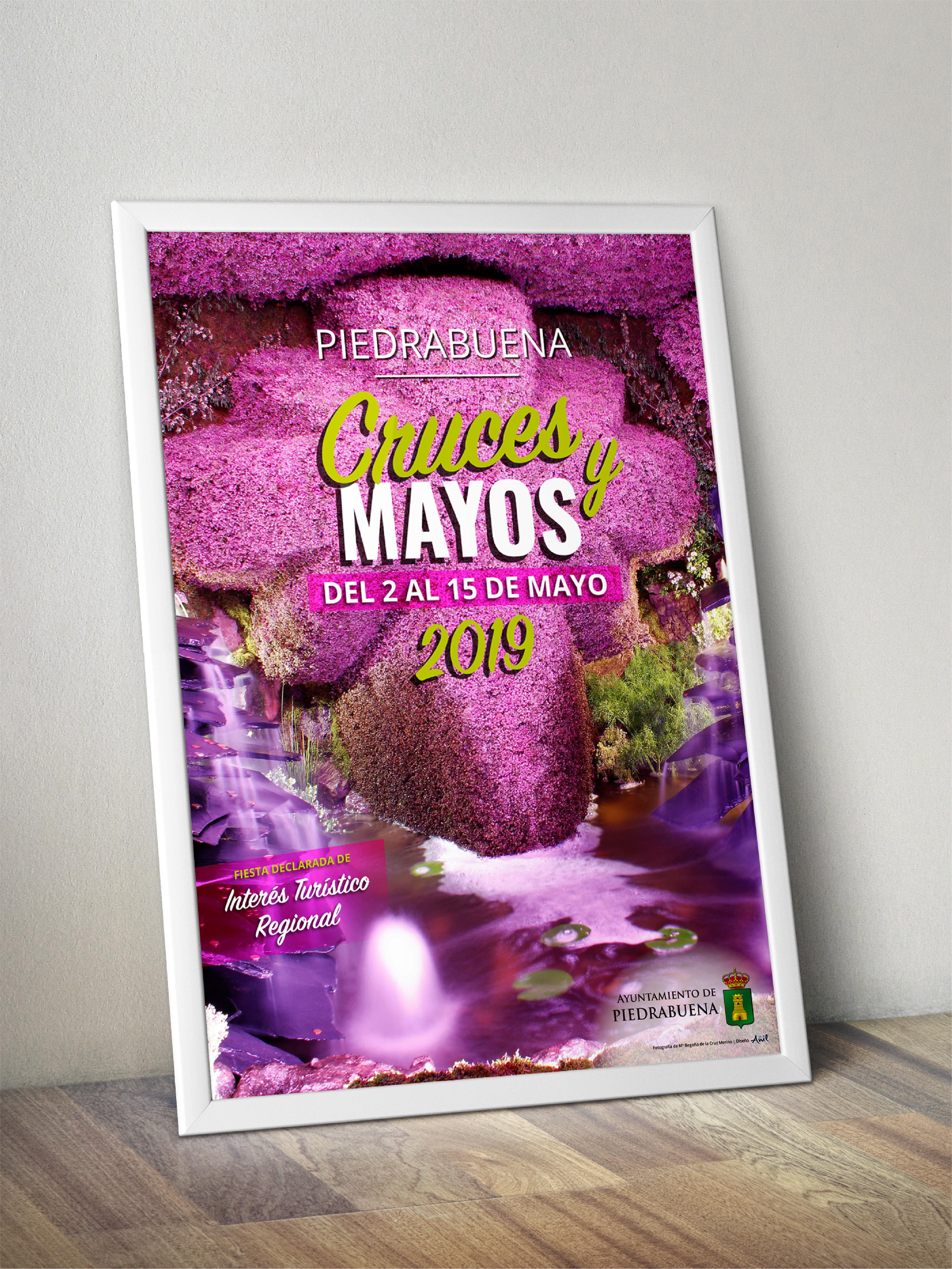 Cartel Cruces y Mayos 2019 Piedrabuena