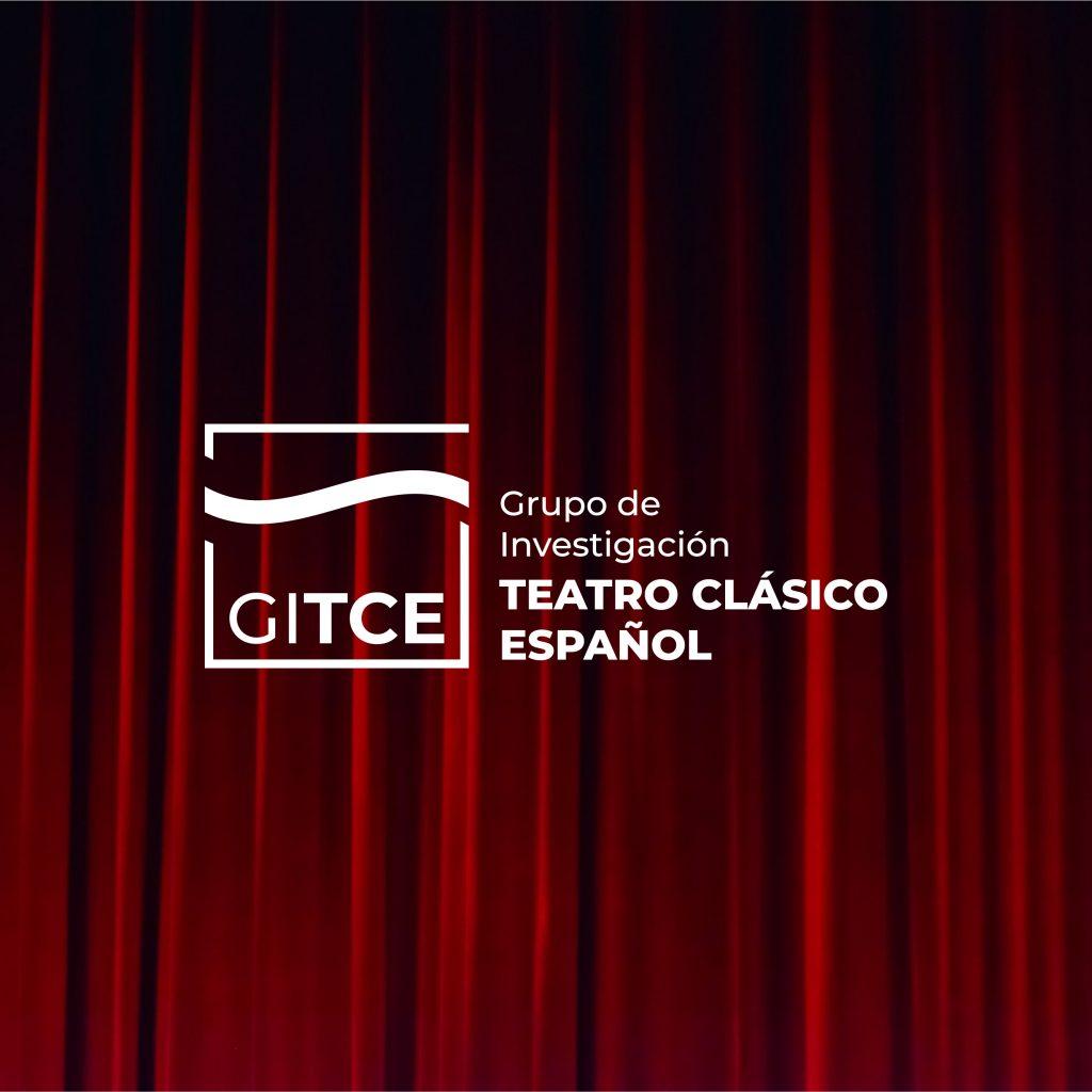 Logotipo negativo Grupo de Investigación de Teatro Clásico Español