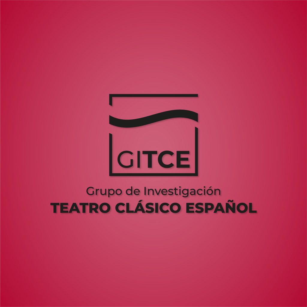 Logotipo monocromo Grupo de Investigación de Teatro Clásico Español