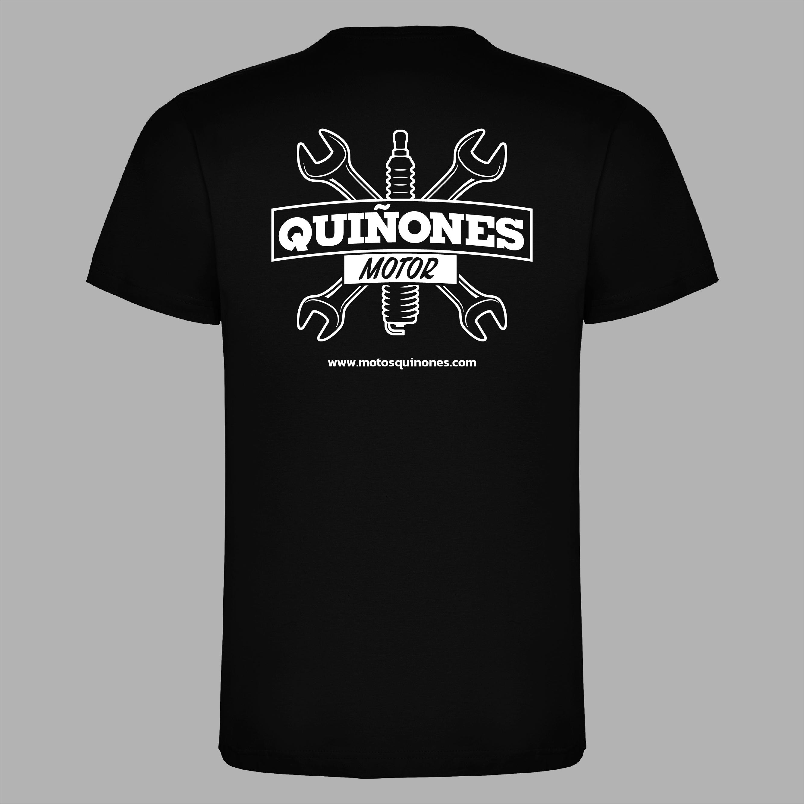 Serigrafía camisetas Quiñones motor